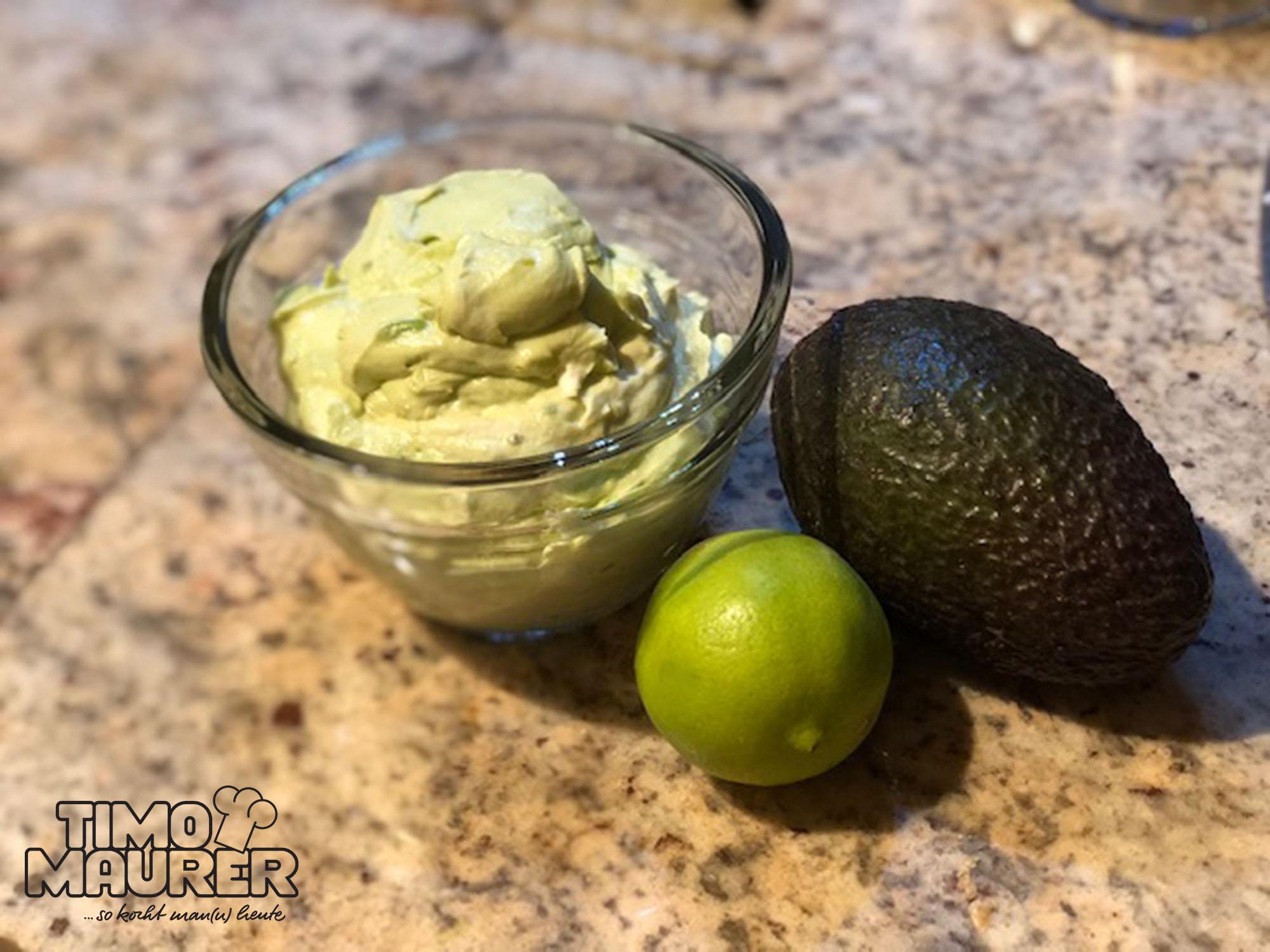 Avocado-Limetten-Creme