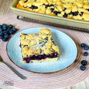 Read more about the article Blaubeer-Kuchen