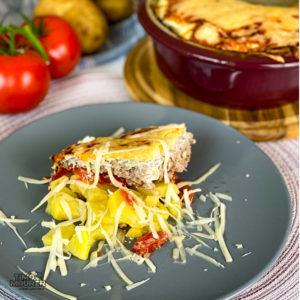 Read more about the article Kartoffel-Hackfleisch-Auflauf