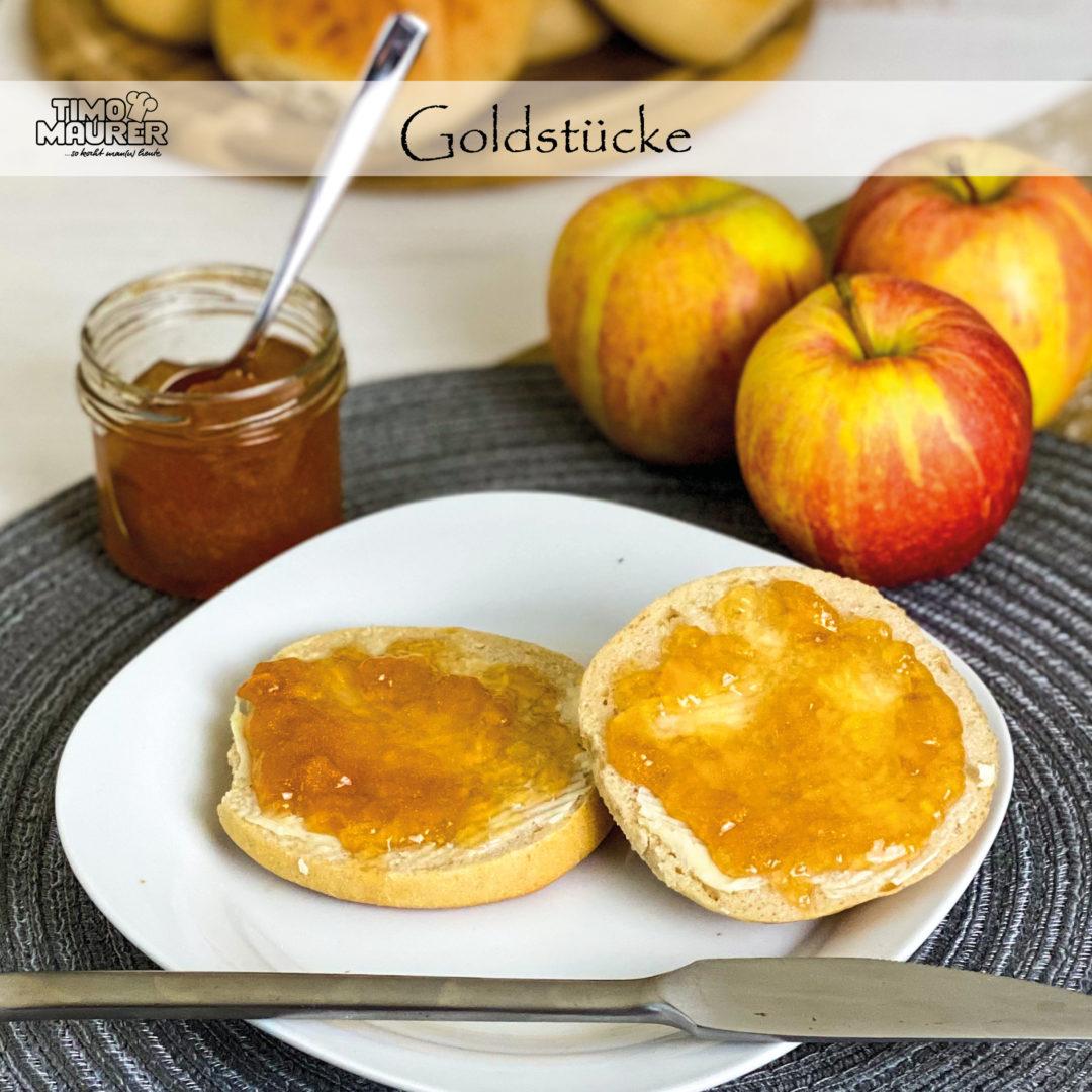 Goldstücke – Apfelgelee