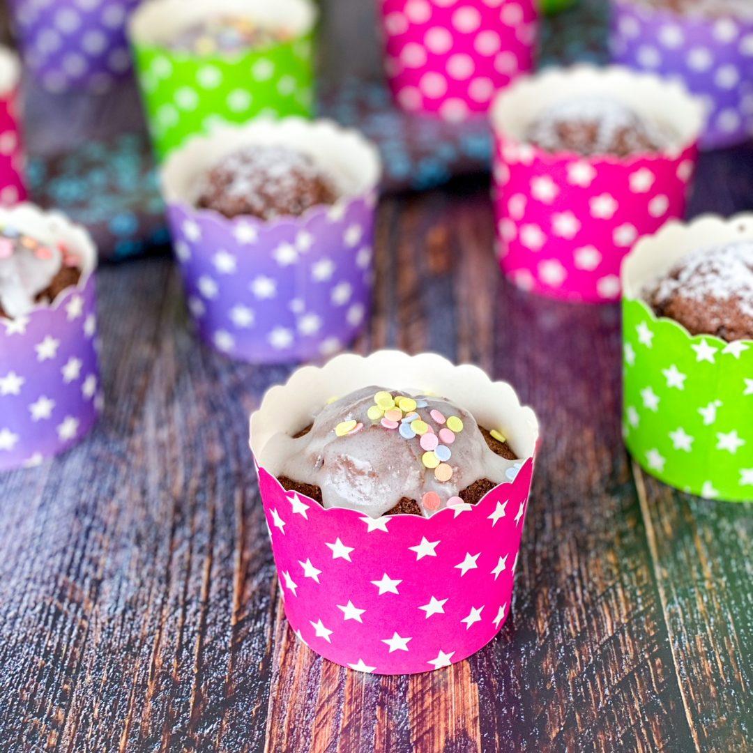 Schoko-Muffins – Grundrezept