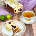 Heidelbeer-Limetten-Kuchen