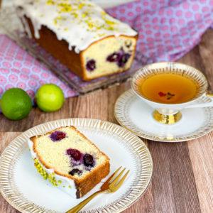 Read more about the article Heidelbeer-Limetten-Kuchen