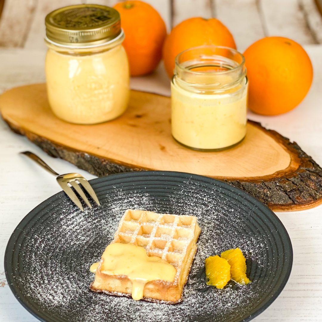 Orangen Curd